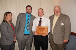 Photo (left to right): President Danielle Kleber, Mike Peterson, Kurt Behrhorst and Dave Schultz